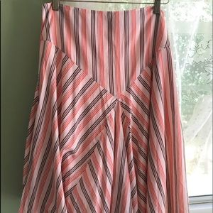 American Eagle Outfitters striped skirt 12